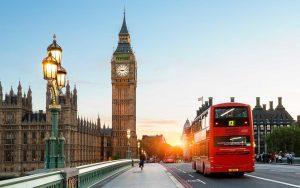 Лондон, Брюксел и Амстердам
